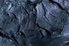 Donkerblauw textuurdocument als achtergrond royalty-vrije stock foto's