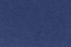 Donkerblauw textuurdocument, donkere achtergrond Stock Afbeeldingen
