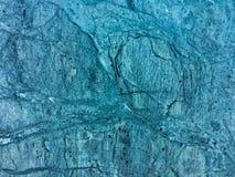 Donkerblauw van de kleuren marmeren textuur abstract patroon als achtergrond Royalty-vrije Stock Fotografie