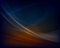 Donkerblauwe abstracte achtergrond Royalty-vrije Stock Fotografie