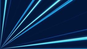 Donkerblauwe abstracte achtergrond, lijn stock videobeelden