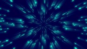 Donkerblauwe abstracte achtergrond, lijn stock illustratie