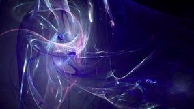 Donkerblauwe abstracte de motieachtergrond van het lijnenpatroon vector illustratie