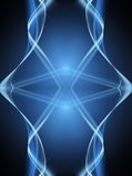 Donkerblauwe achtergrond vector illustratie