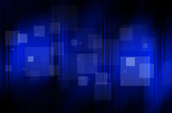 Donkerblauwe achtergrond met vierkant Royalty-vrije Stock Fotografie