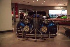 Donkerblauwe de Gangsterploeg van Chevrolet van 1939 Hoofd Luxe Royalty-vrije Stock Fotografie