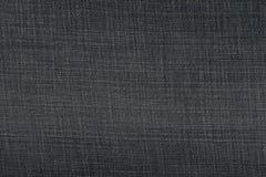 Donkerblauwe de stoffentextuur van denimjeans voor achtergrond Royalty-vrije Stock Afbeelding