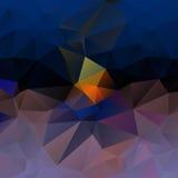Donkerblauwe en grijze abstracte achtergrond Stock Foto