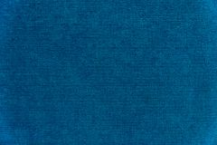 Donkerblauwe fluweeltextuur als achtergrond Stock Fotografie