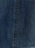 Donkerblauwe jeans Royalty-vrije Stock Foto