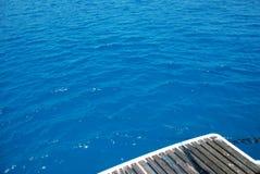 Donkerblauwe Kretenzische Overzees Royalty-vrije Stock Foto's