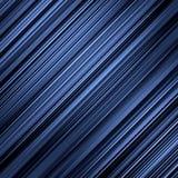 Donkerblauwe lijnenachtergrond. Stock Afbeeldingen