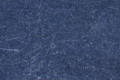 Donkerblauwe marmeren Ñ 'Ð?ÐºÑ  Ñ 'уре met natuurlijk patroon voor achtergrond Stock Afbeelding