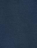 Donkerblauwe Stoffentextuur Als achtergrond Stock Fotografie