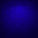 Donkerblauwe technologie-achtergrond, aantallentextuur Vector Illustratie