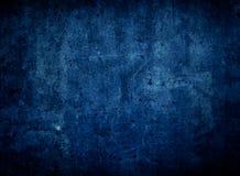 Donkerblauwe Textuur Als achtergrond