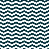 Donkerblauwe vector van het chevron de naadloze patroon Stock Foto