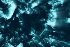 Donkerblauwe verf stock illustratie