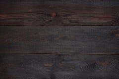 Donkerbruine houten geweven achtergrond stock foto's
