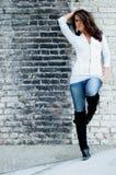 Donkerbruine mannequin Royalty-vrije Stock Afbeeldingen