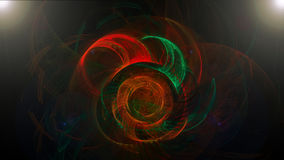Donkere abstracte achtergrond met spiraalvormige kleuren Royalty-vrije Stock Afbeeldingen