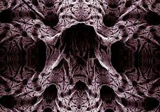 Donkere abstracte fractal Stock Afbeeldingen