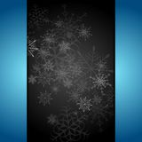Donkere abstracte Kerstmisachtergrond Stock Foto