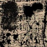 Donkere Achtergrond Grunge Royalty-vrije Stock Afbeeldingen