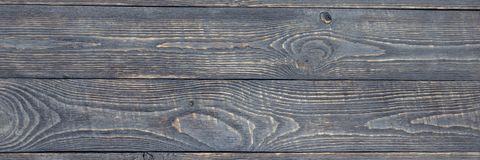Donkere achtergrond van houten textuurraad met verfresidu's horizontaal natalia royalty-vrije stock foto