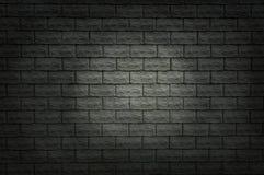 Donkere bakstenen muur Royalty-vrije Stock Afbeelding