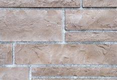 Donkere bakstenen muurtextuur Royalty-vrije Stock Afbeeldingen