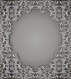 Donkere bloemen vectorachtergrond Stock Afbeelding