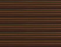 Donkere bruin als achtergrond met horizontale oranje groene het herhalen strepen Royalty-vrije Stock Foto's