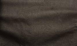 Donkere bruine de textuurachtergrond van het luxeleer Royalty-vrije Stock Afbeelding