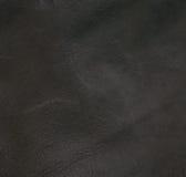 Donkere bruine dichte omhooggaand van de leertextuur Royalty-vrije Stock Foto