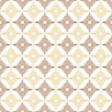 Donkere bruine en lichtbruine kleuren Abstracte patroonknopen Royalty-vrije Stock Afbeelding