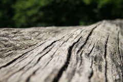 Donkere bruine geweven natuurlijke houten oppervlakteachtergrond Royalty-vrije Stock Afbeelding