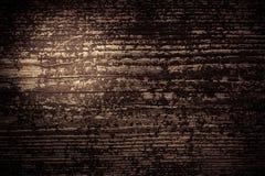 Donkere bruine houten achtergrond Stock Afbeelding
