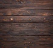 Donkere bruine houten achtergrond met hoge resolutie Royalty-vrije Stock Afbeeldingen