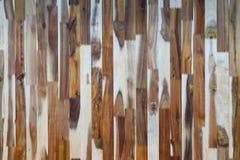 Donkere Bruine houten muurtextuur Royalty-vrije Stock Foto's
