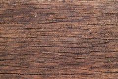 Donkere bruine houten textuur Stock Afbeelding