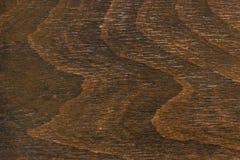 Donkere bruine houten textuur Bruine achtergrond royalty-vrije stock foto