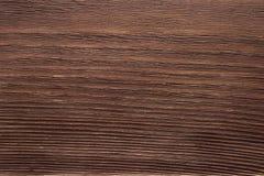 Donkere bruine houten textuur De houten achtergrond van de Lijst Royalty-vrije Stock Afbeelding