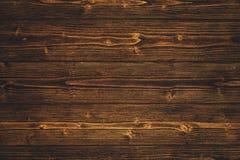 Donkere bruine houten textuur met natuurlijke gestreepte patroonachtergrond Royalty-vrije Stock Foto