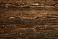 Donkere bruine houten textuur met natuurlijke gestreepte patroonachtergrond Stock Fotografie