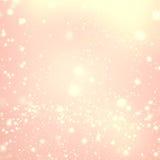 Donkere bruine houten textuur met witte sneeuw en sterren in uitstekend varkenskot Royalty-vrije Stock Foto's