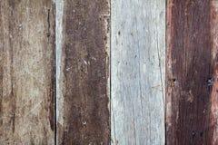 Donkere bruine houten vloertextuur en achtergrond Stock Foto's