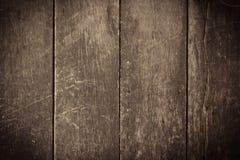 Donkere bruine houten vloertextuur en achtergrond Stock Afbeelding