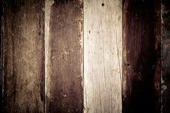 Donkere bruine houten vloertextuur en achtergrond Royalty-vrije Stock Afbeelding