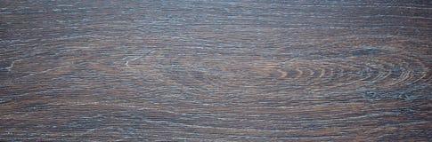 Donkere bruine kleur van de banner de houten Raad Royalty-vrije Stock Afbeelding